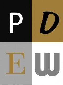 PDEW logo